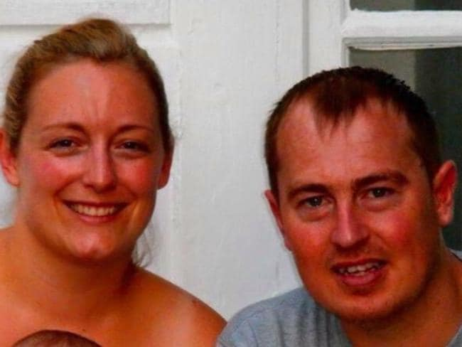 Shocking loss ... couple Simon and Amanda Lewis. Picture: GoFundMe