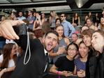 Short Stack take a selfie with fans on arrival at the 29th Annual ARIA Awards 2015 at The Star on November 26, 2015 in Sydney, Australia. Picture: Mark Metcalfe / Getty Images