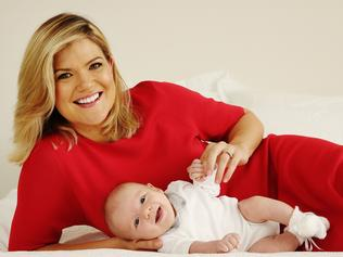 Sarah Harris and Baby Paul