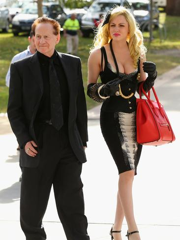 The list just wouldn't be complete without everyone's favourite odd coupling, Geoffrey Edelsten and new flame Gabi Grecko are out to prove that a 46-year age gap is no barrier to true love. Picture: Getty
