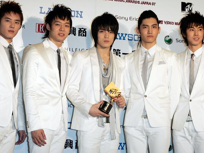 Tensions in TVXQ led to the appearance of splinter group JYJ, after fierce arguments through lawyers.