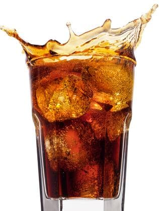 Dark coloured drinks like cola, tea and coffee can stain the teeth. Picture Thinkstock