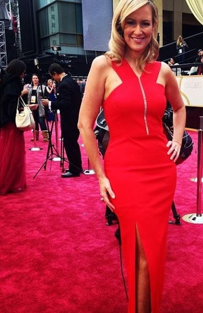 Mel Doyle heats up the red carpet