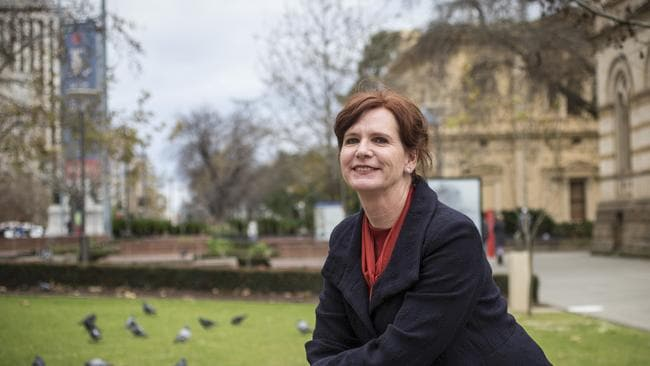 Kate Cullity, landscape architect, pictured at the Royal Botanic Gardens in Melbourne.