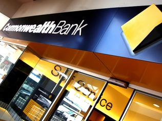 A Commonwealth Bank building is seen in the Brisbane CBD, Thursday, May 11, 2017.