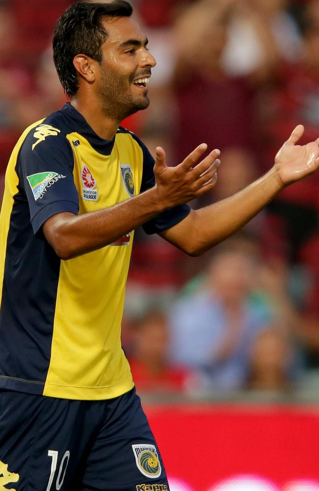 Marcos Flores is joining his third A-League club.