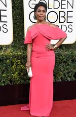 Angela Bassett attends the 74th Annual Golden Globe Awards at The Beverly Hilton Hotel on January 8, 2017 in Beverly Hills, California. Picture: Getty