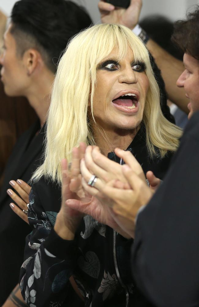 Donatella Versace took over the fashion brand when her brother Gianni was murdered in 1997. Picture: Mike Marsland/WireImage