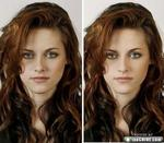 Before and after shots of celebrites that have been retouched from Photoshop. thechive.com