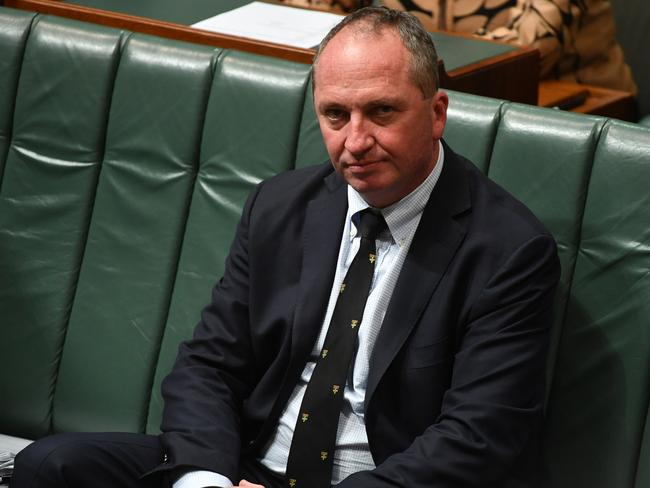 Deputy Prime Minister Barnaby Joyce renounced his New Zealand citizenship. Picture: AAP