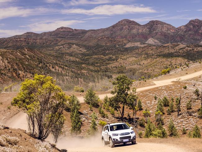 Australia's vast landscape, however, demands different types of vehicles for the conditions — including diesels. Picture: South Australia Tourism