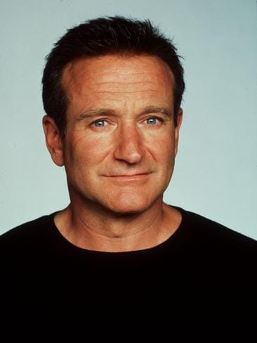 "1999: Actor Robin Williams, during making of 1999 film ""Bicentennial Man"". Picture: Supplied"