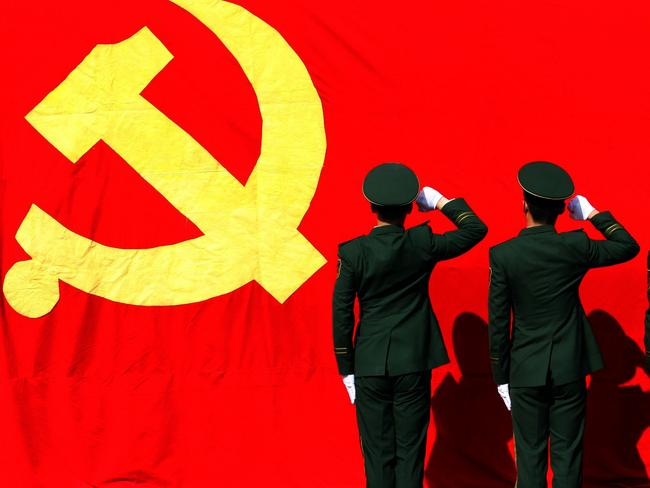The Communist Party's United Front Work Department is tasked with tasked with coercing elites outside the party to ensure of their political loyalty. Picture: Guo Guangjie/Color China Photo/AP Images