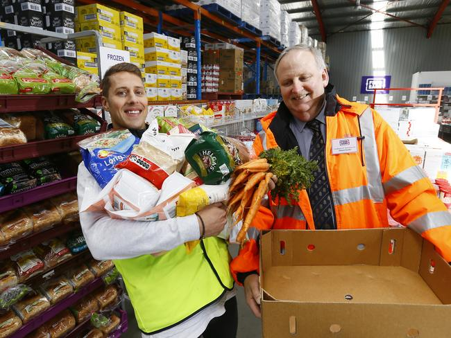 Foodbank and Zambrero have joined forces to provide prepacked meals for those in need. Picture: Matt Thompson