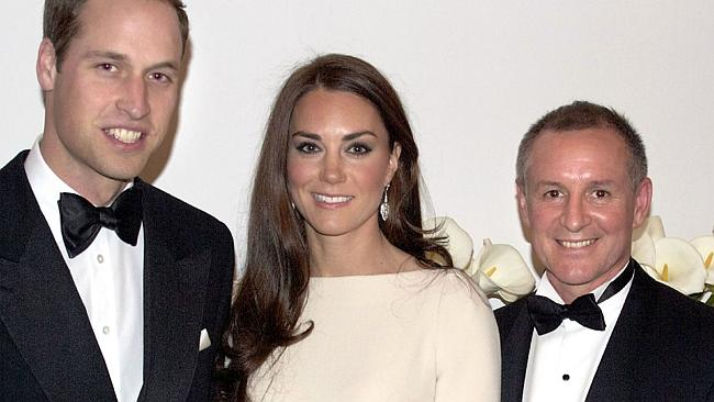 Prince William, the Duke of Cambridge, Catherine, the Duchess of Cambridge and SA Premier