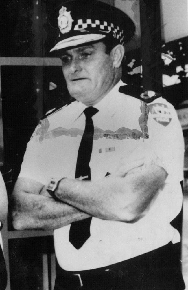 Gone but not forgotten ... Colin Winchester, a former Australian Federal Police Assistant Commissioner.