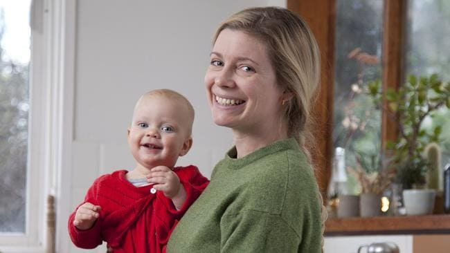 Linden's biological daughter, Myf Cummerford, with her daughter.
