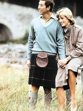 In 1981 Princess Diana was young and plainly in love. Picture: Camera Press