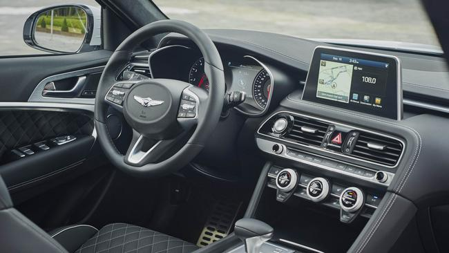 The interior lacks the polish of the Germans. Pic: Supplied.
