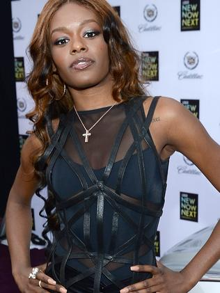 Azealia Banks is said to be furious that RZA didn't defend her during her alleged bust-up with Russell Crowe. Picture: Michael Buckner/Getty Images for LOGO