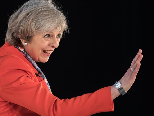 British Prime Minister Theresa May will trigger article 50 on Wednesday 29 March. Picture: Getty.