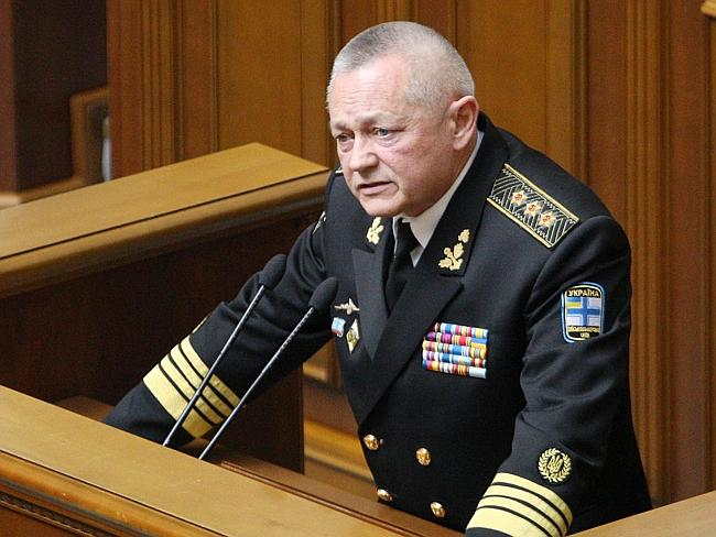 Resigned...Former Ukrainian Defence Minister Igor Tenyukh has resigned over his handling of the Crimea crisis following Russia's annexation of the restive Black Sea peninsula. Picture: AFP