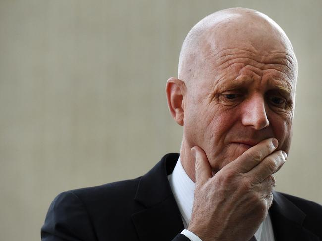 Crossbencher David Leyonhjelm is among the crossbenchers pushing for marriage equality. Picture: AAP Image/Mick Tsikas