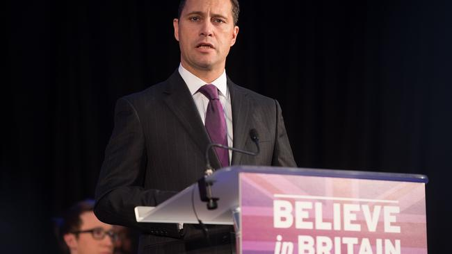 Migration spokesman Steven Woolfe, touted as the party's next leader, as quit the United Kingdom Independence Party. Picture: Leon Neal/AFP