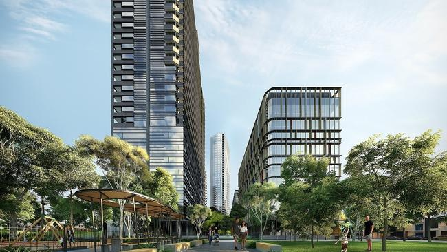 Parramatta also has a long pipeline of new unit projects.
