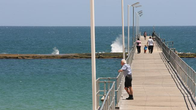 The Port Noarlunga Jetty. Adelaide's south is proximity to beaches and the McLaren Vale wine region.