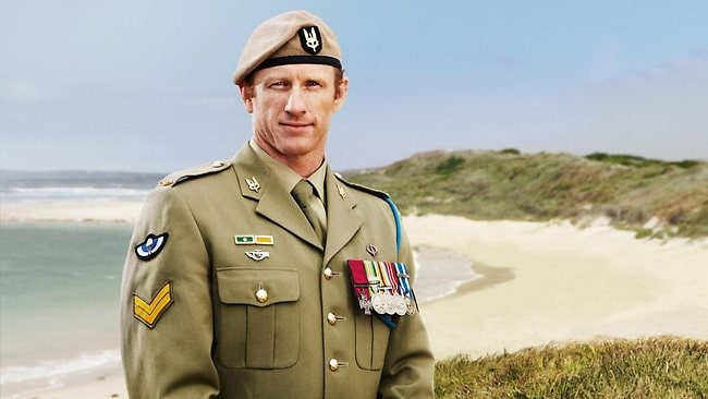 Corporal Mark Donaldson received the Victoria Cross in 2009.
