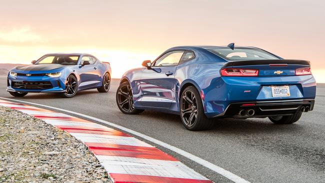 There might not be a Commodore V8 next year, but how about a Chevrolet Camaro? Picture: Supplied