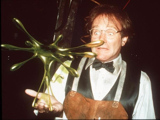 Actor Robin Williams in 1997 film 'Flubber'. Picture: Supplied