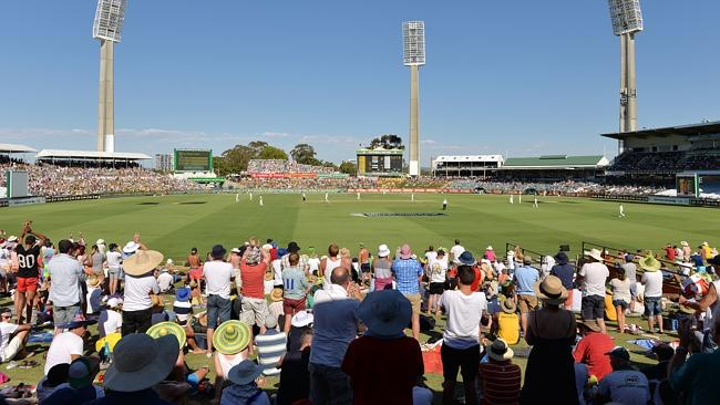 Ashes Cricket at the WACA Ground, which was redeveloped by BGC.