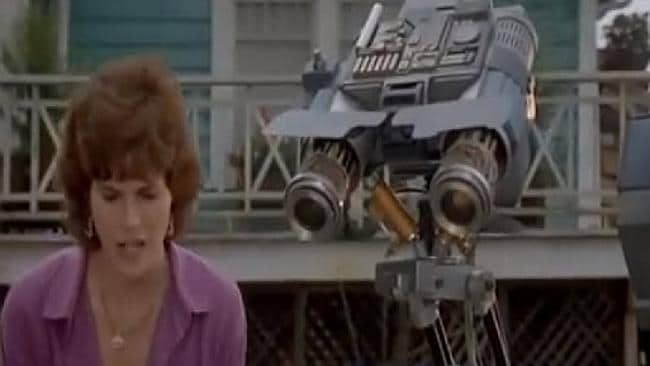 Johnny 5 is alive! Source: YouTube