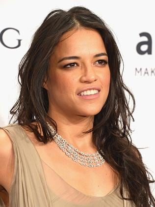 Actress Michelle Rodriguez.
