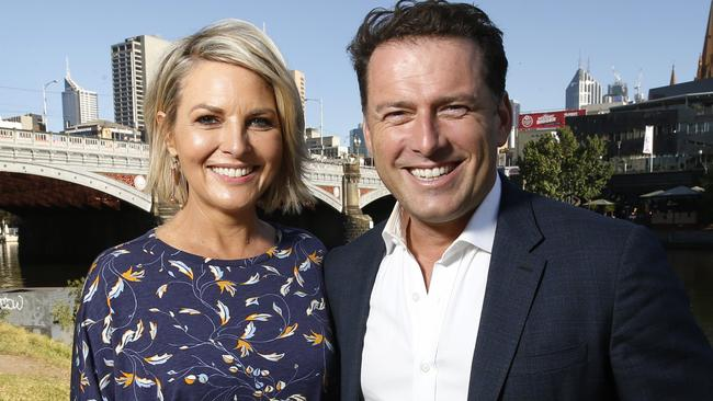 "Georgie Gardner needs to ""step up"", according to Karl. Picture: David Caird"