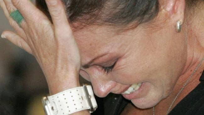 Schapelle Corby bursts into tears as she is sentenced to 20 years in jail in a Denpasar courtroom on Friday, May 27, 2005. (Photo by Dimas Ardian/Getty Images)