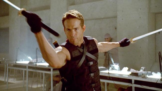Reynolds as 2009 era Deadpool in X-Men Origins: Wolverine. Picture: Twentieth Century Fox