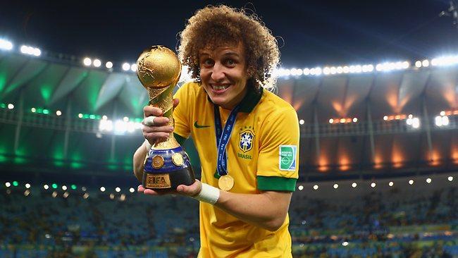 David Luiz ... is in high demand.