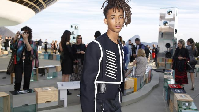 This Jaden Smith does not want to be your Facebook friend. Picture: Vivian Fernandez/Getty Images.