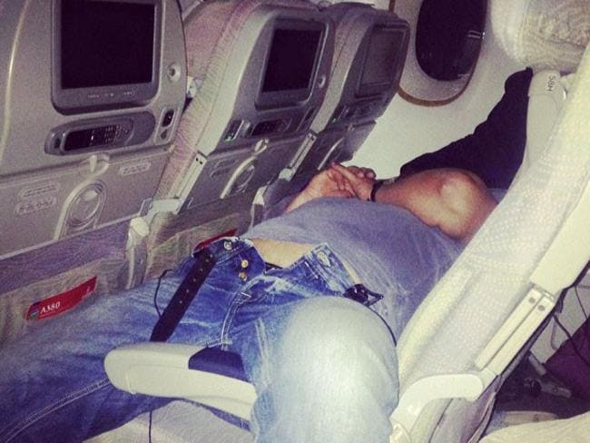 12. Still another old mate. For real, what's with these guys? Picture: Passenger Shaming