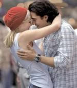 <p>Actors Kirsten Dunst and Orlando Bloom in the 2005 film Elizabethtown.</p>