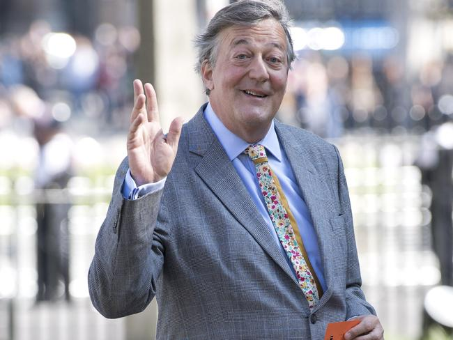 British actor and presenter Stephen Fry. Picture: AFP