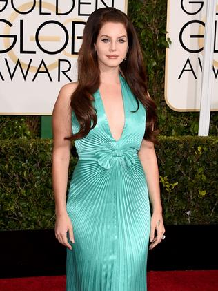 Songstress ... Lana Del Rey. Picture: Getty Images