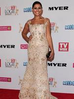 Sally Obermeder arrives at the 2014 Logie Awards at Crown Palladium on April 27, 2014 in Melbourne, Australia. (Photo by Robert Prezioso/Getty Images)