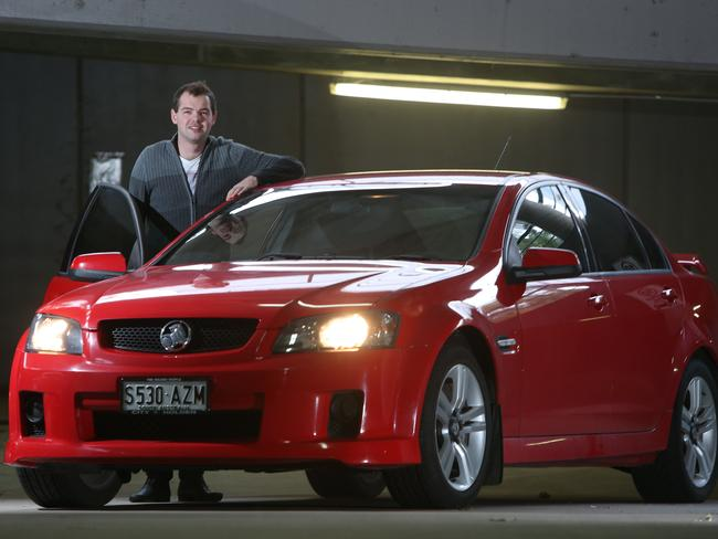 UPGRADE: Aaron Jenkin bought a second-hand Holden Commodore through a dealership.  <b>Picture: tait schmaal</b>
