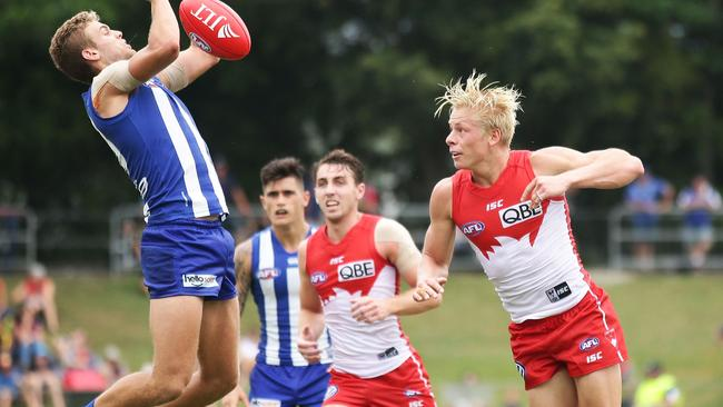 Isaac Heeney is the latest Swan to be sidelined. Picture: Getty Images