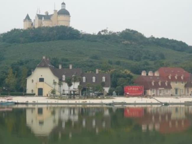 It looks like a medieval French hamlet.