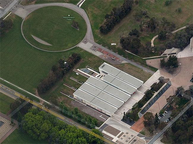 "Canberra in 3-D: #2 National Portrait Gallery ""Superb presentation of Australian portraits"". Photo: Google Maps"